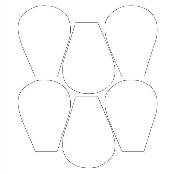 Image Result For Crepe Paper Flower Patterns Free Clever Crafts