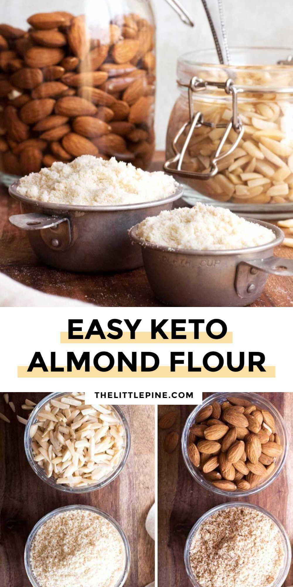 How To Make Almond Flour (Gluten Free + Keto!) Recipe in