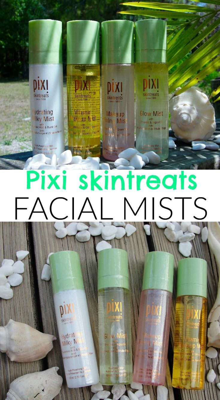 PIXI FACIAL MISTS FOR EVERYONE! Combination skin, Oily