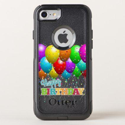 Happy Birthday Fun Balloons OtterBox Commuter IPhone 8 7 Case