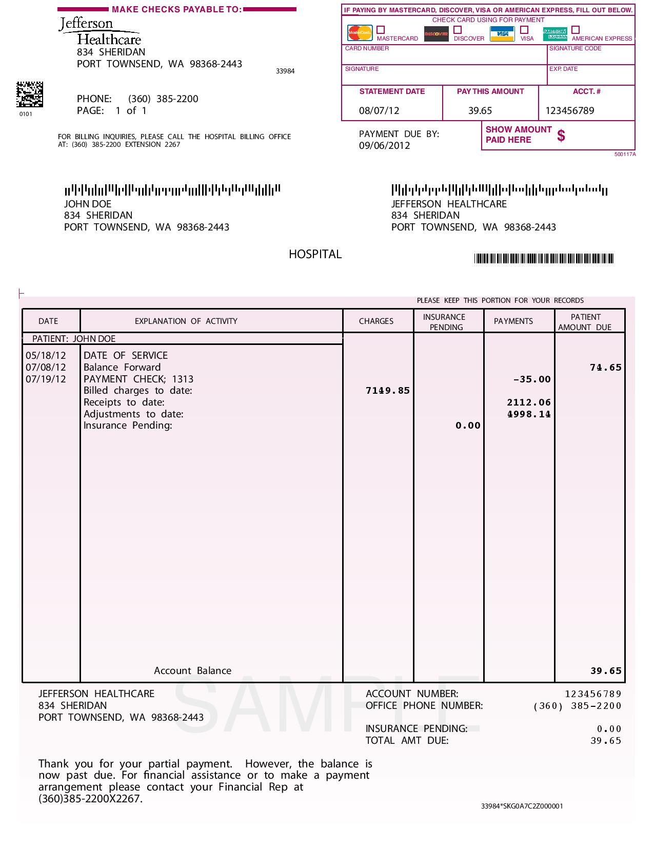 Invoice template payment terms free printable invoice for Online architects for hire