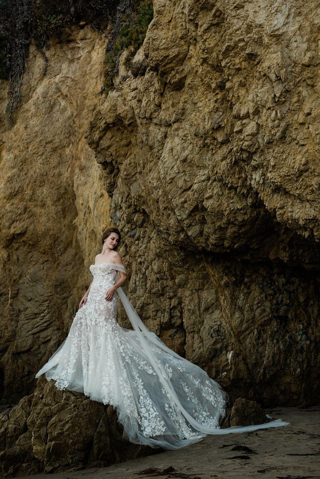 Bohemian sensual beach wedding gown sensualweddinggown