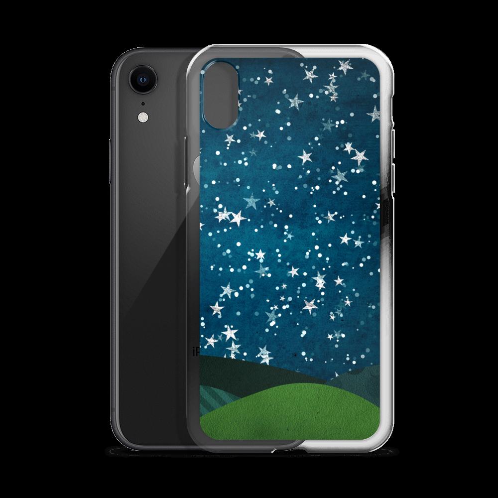Stars iPhone Case iPhone 6 7 8 10 X Xs MAX XR Teal
