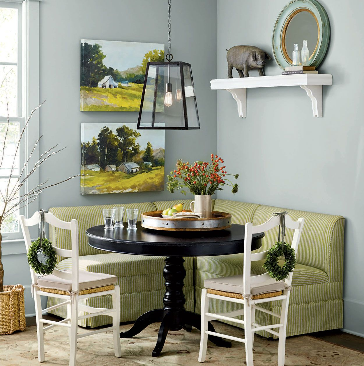 21 Corner Dining Sets Designs Decorating Ideas: Dining Room Decorating Ideas In 2020