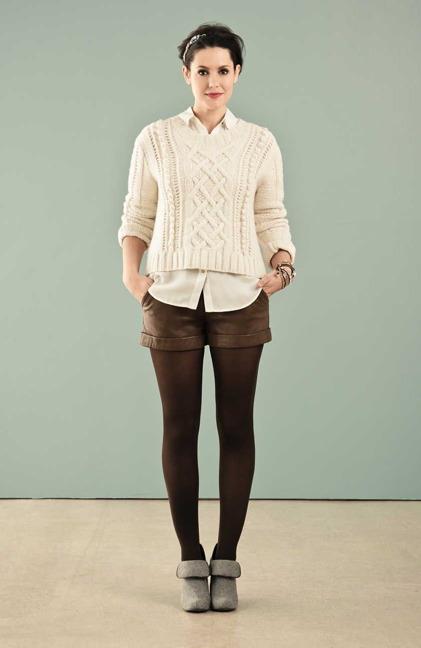 mixing neutrals: layer the same colors w/ different textures. love ...