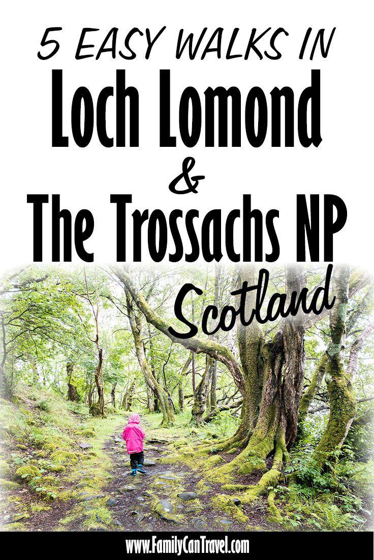 5 Easy Walks in Loch Lomond and Trossachs National Park