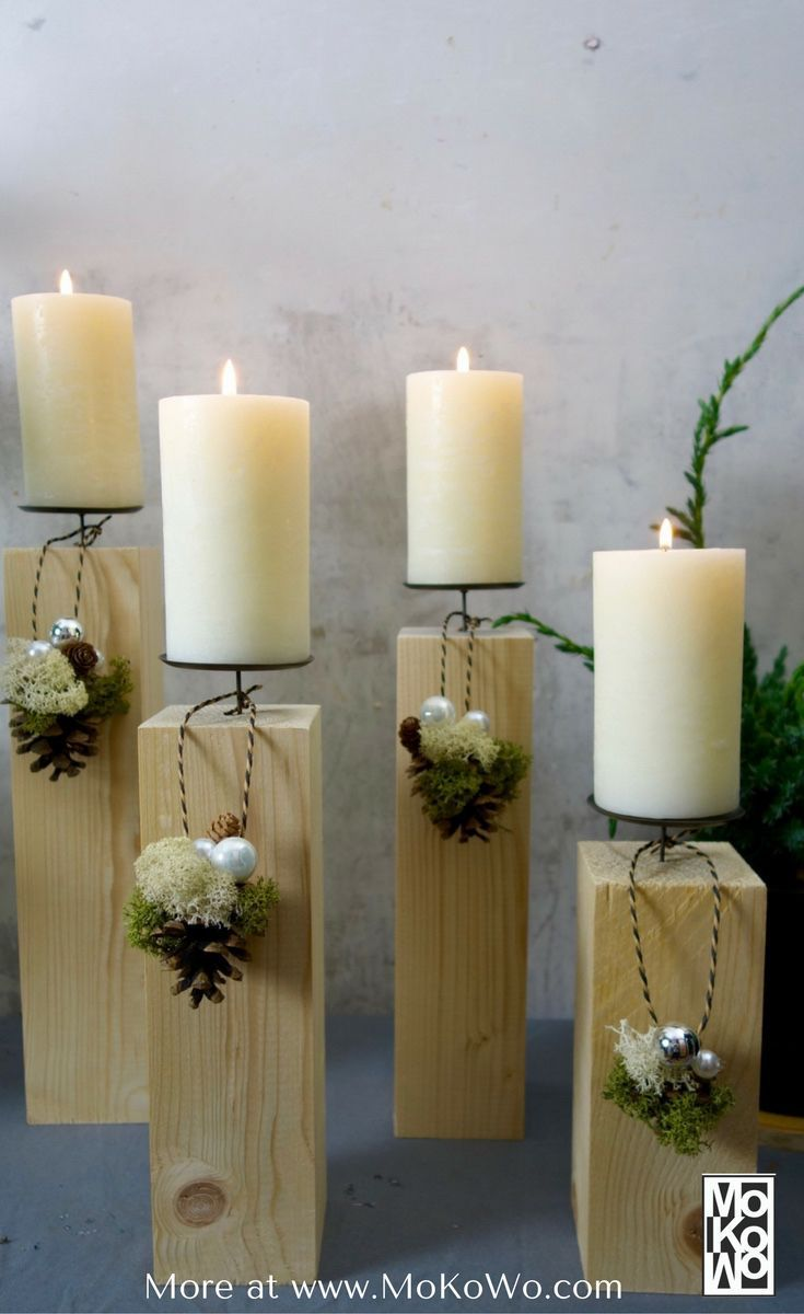 Photo of Ideas extraordinary Advent wreaths DIY – MoKoWo Wohnblog