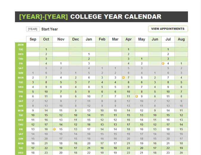 College Year Planner Make To Invoice Pinterest Year Planner - Yearly planner template