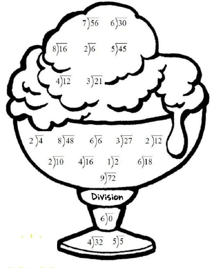summer math coloring pages  Math coloring, Summer math, Coloring