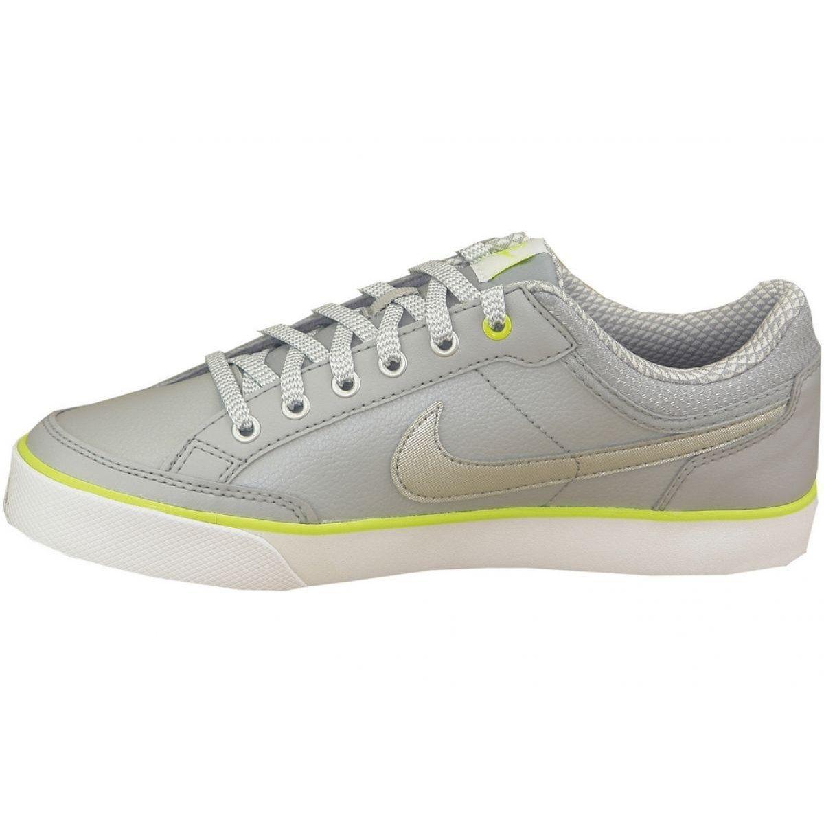 Buty Nike Capri 3 Ltr Gs Jr 579951 010 Szare Nike Capris Nike Kid Shoes