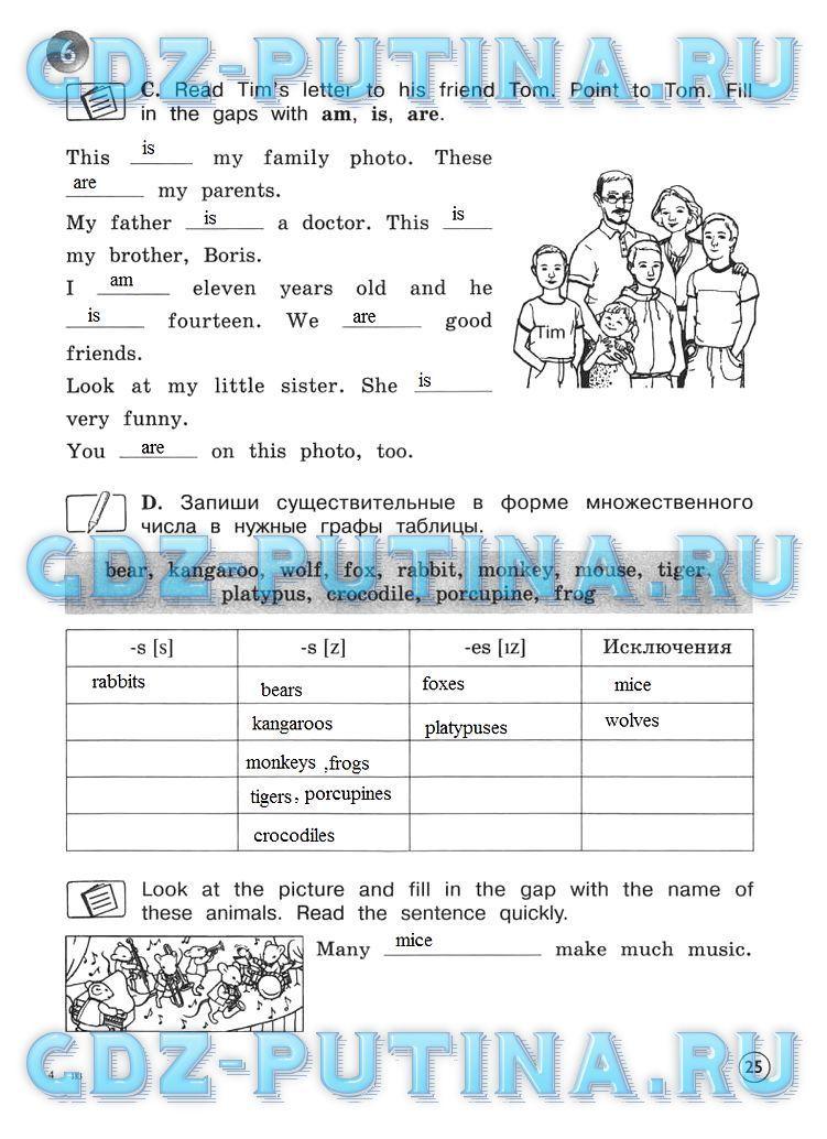 Гдз и решебники по английскому