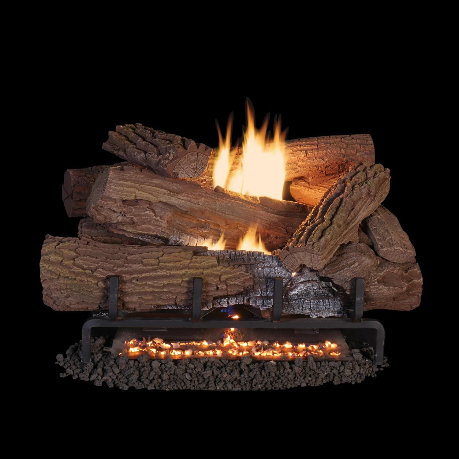 Superior Fireplaces 24 Inch Mossy Oak Gas Log Set With Vent Free