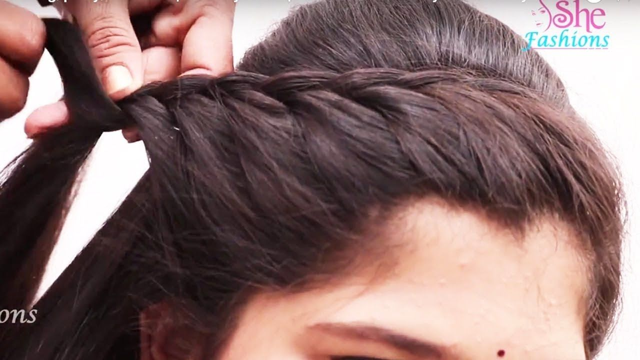 Videos For Hairstyles For Long Hair With Bows - easy beautiful