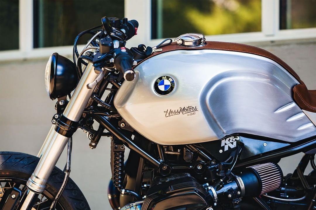 bmw r ninet cafe racer v2 by hess motorrad ag motorcycles. Black Bedroom Furniture Sets. Home Design Ideas