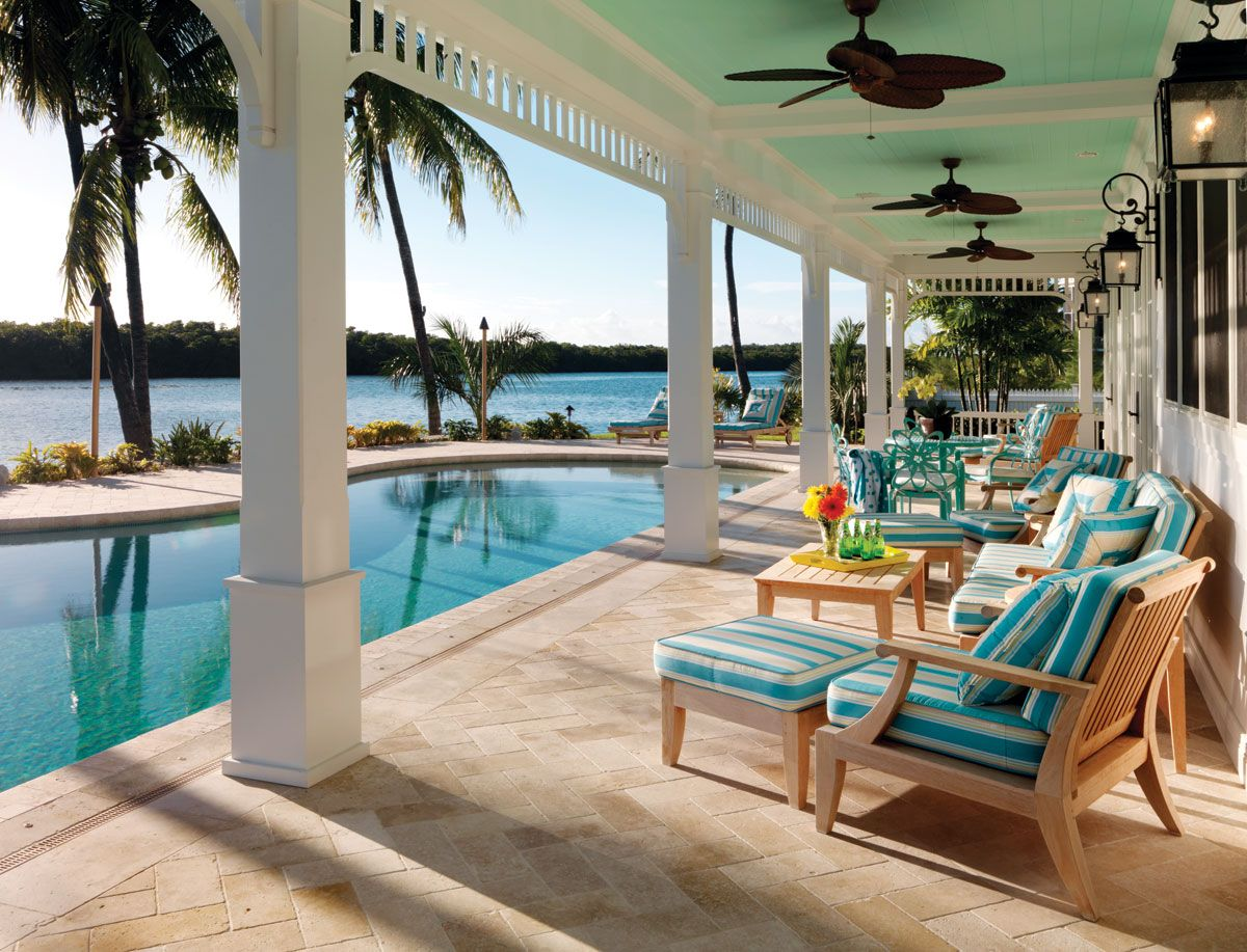 Key West Living | Accent colors, Water and Beach