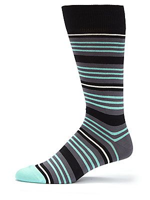 Paul Smith Multi-Striped Knitted Socks
