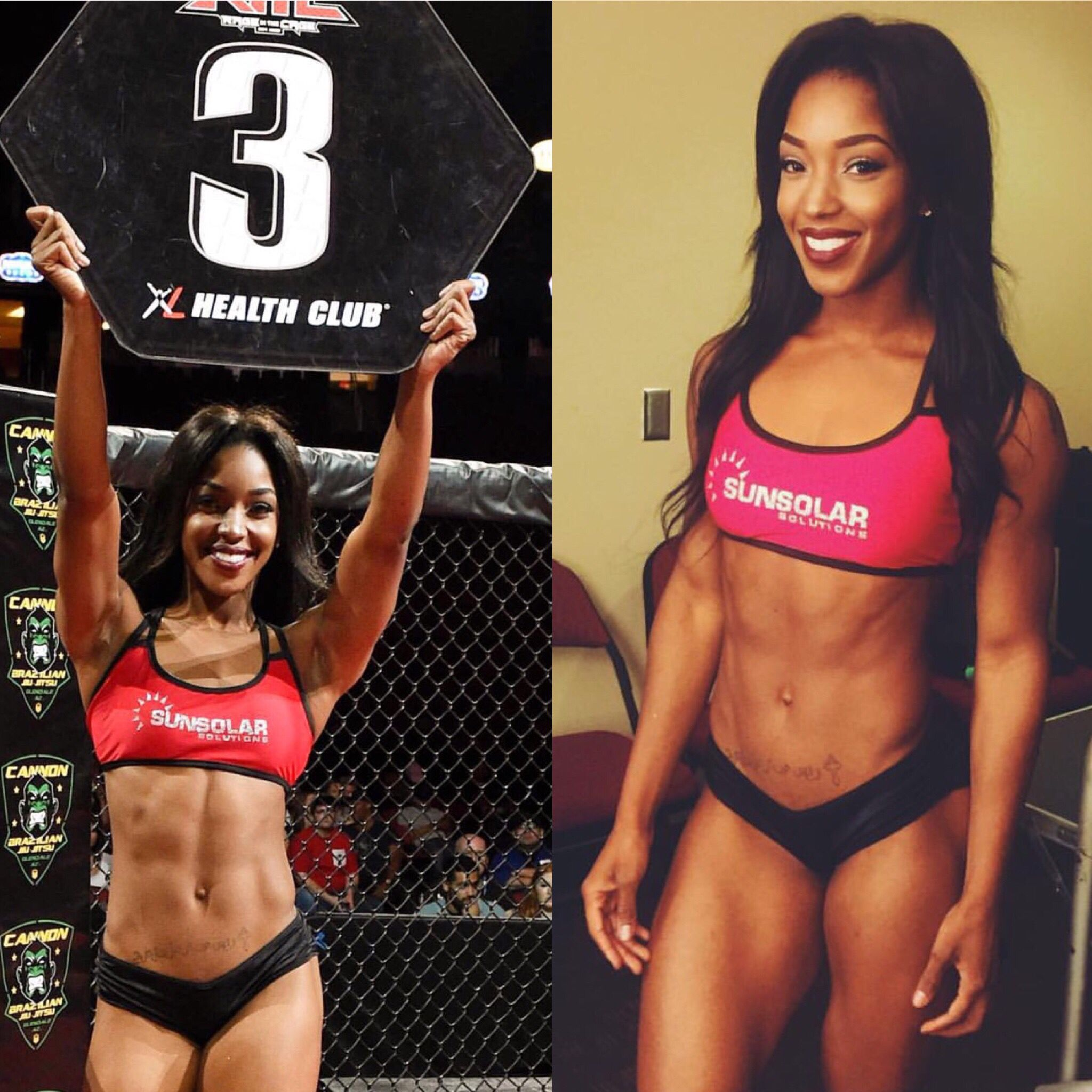 Sexy black muscular women #13
