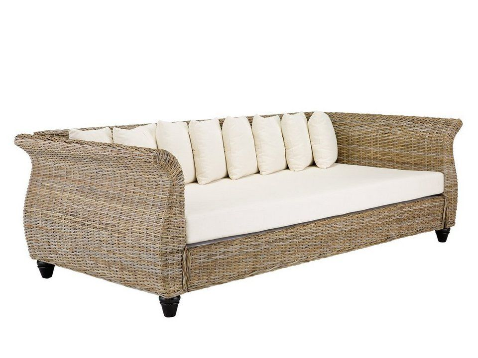 Massivum Sofa Aus Kubu Rattan Lunga Another Test Bettsofa