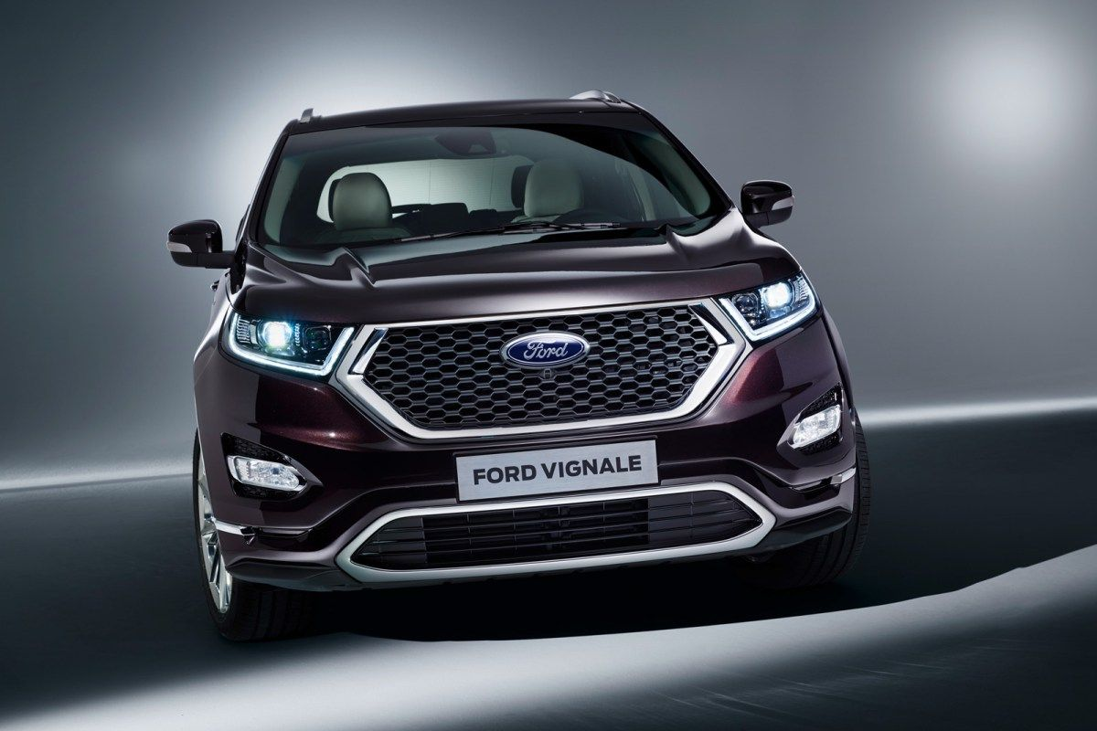2019 Ford Edge Vignale Redesign and price As the most
