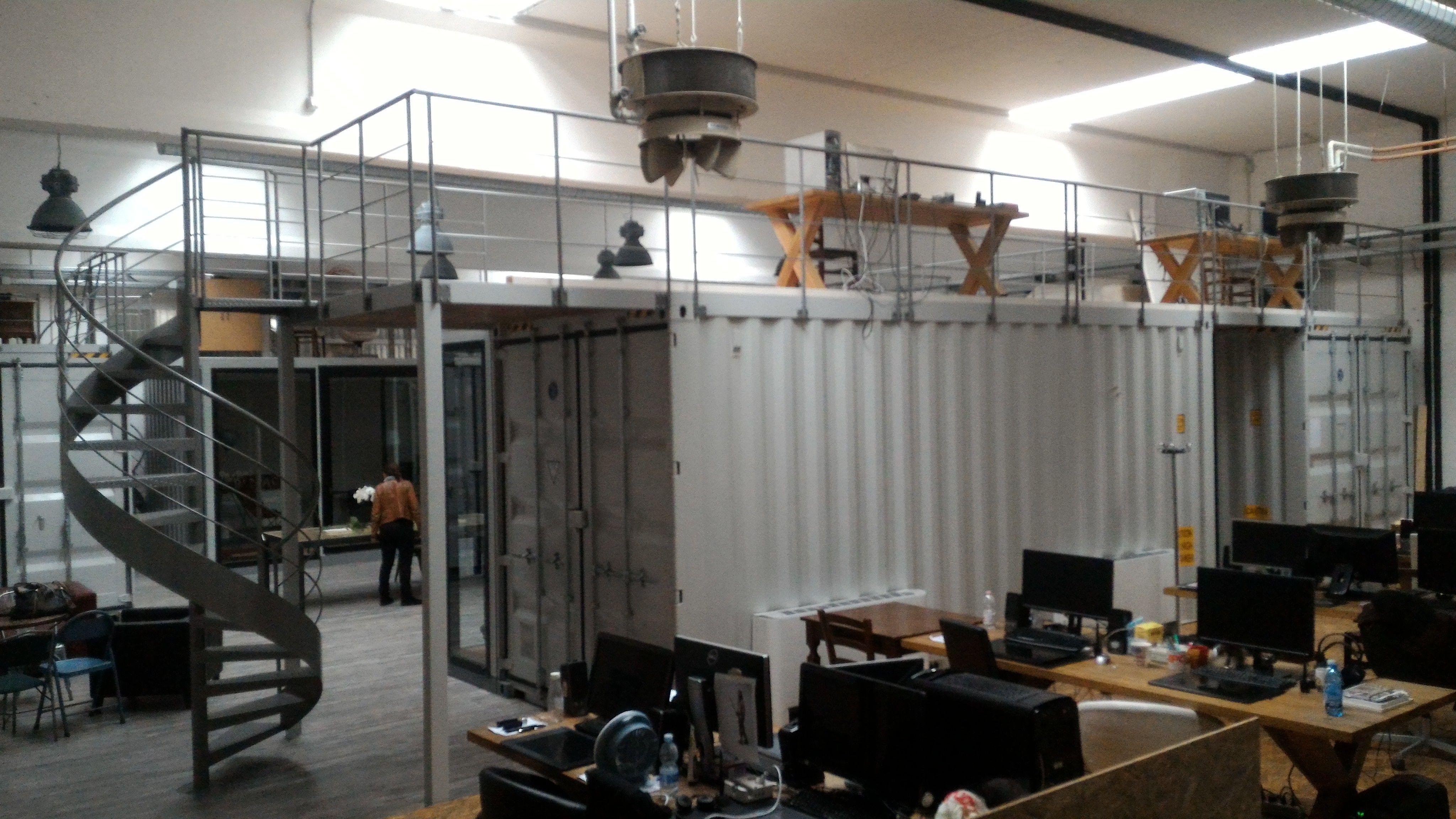 Ufficio A Container : Uffici dentro a container nei capannoni ufficio office