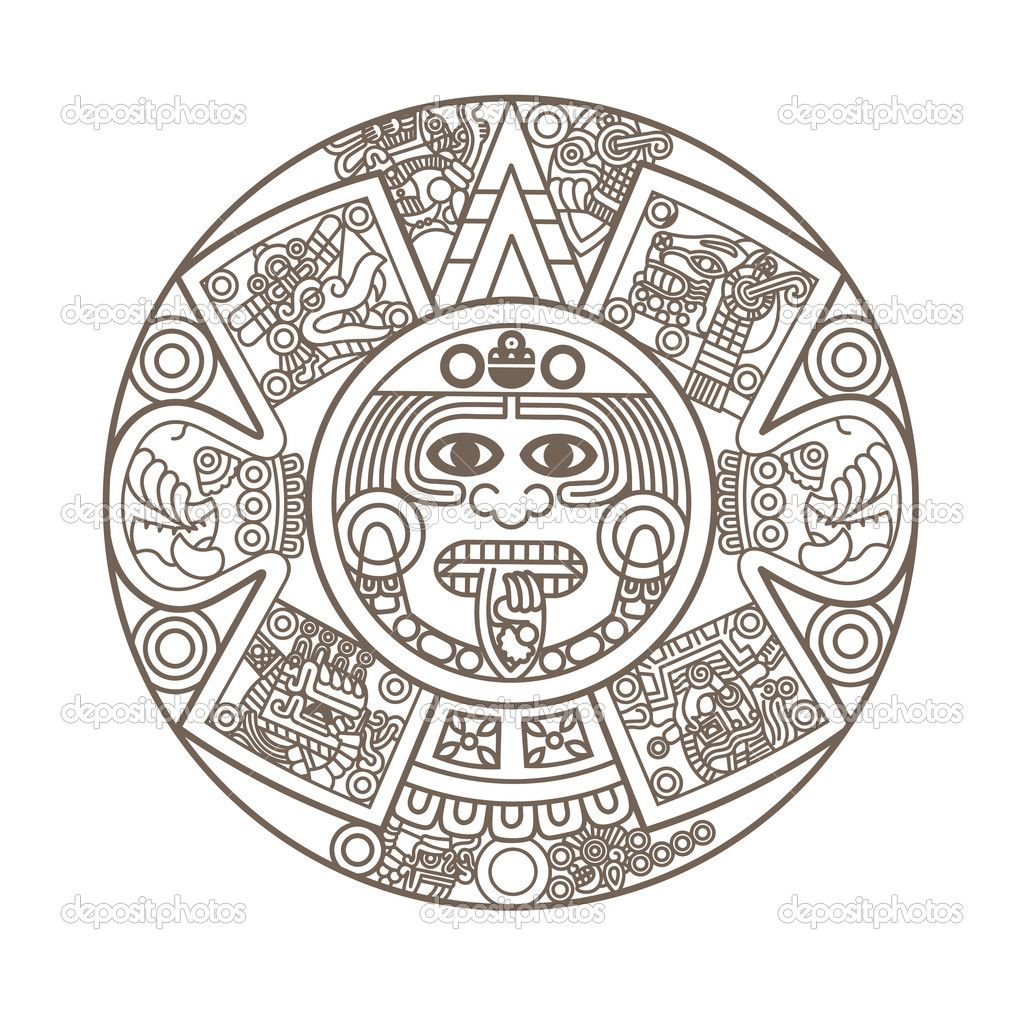 patterns in the aztec calendar | Cart Cart Lightbox ...