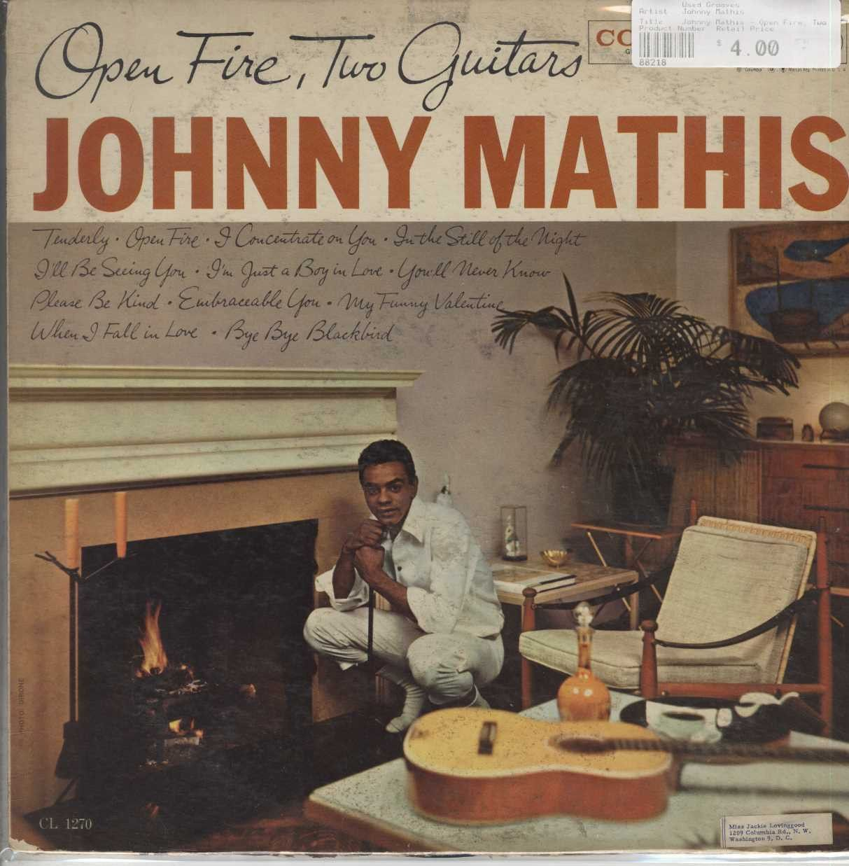 country johnny mathis discography