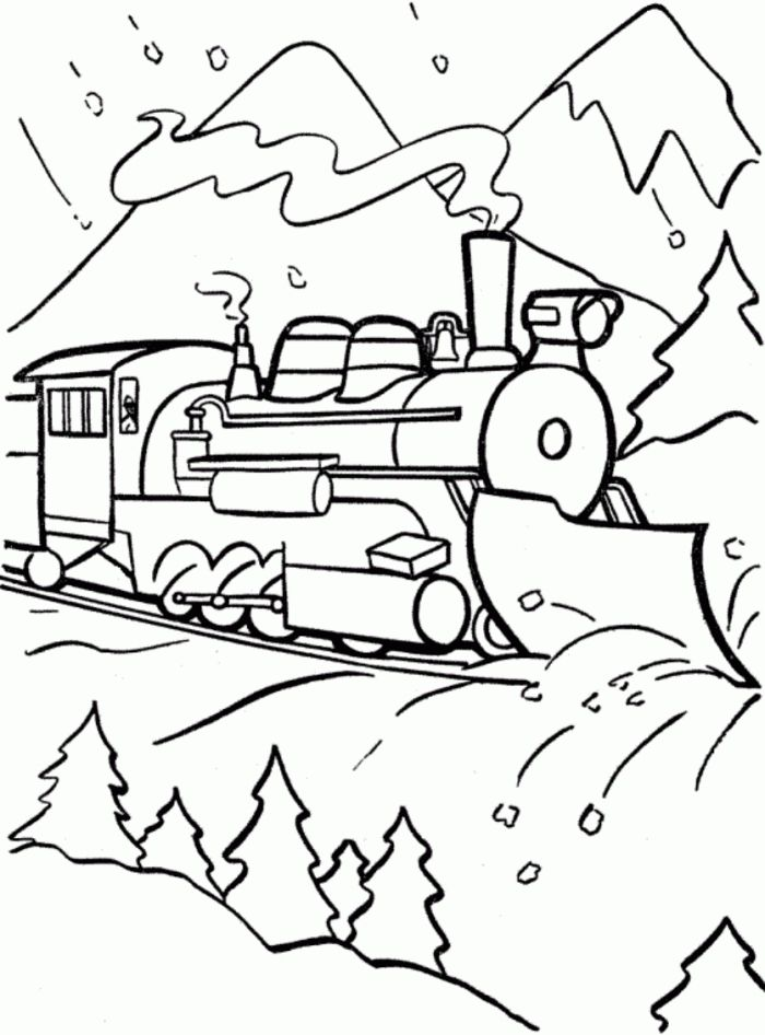 coolest polar express color pages httpcoloringalifiahbiz - Polar Express Train Coloring Page