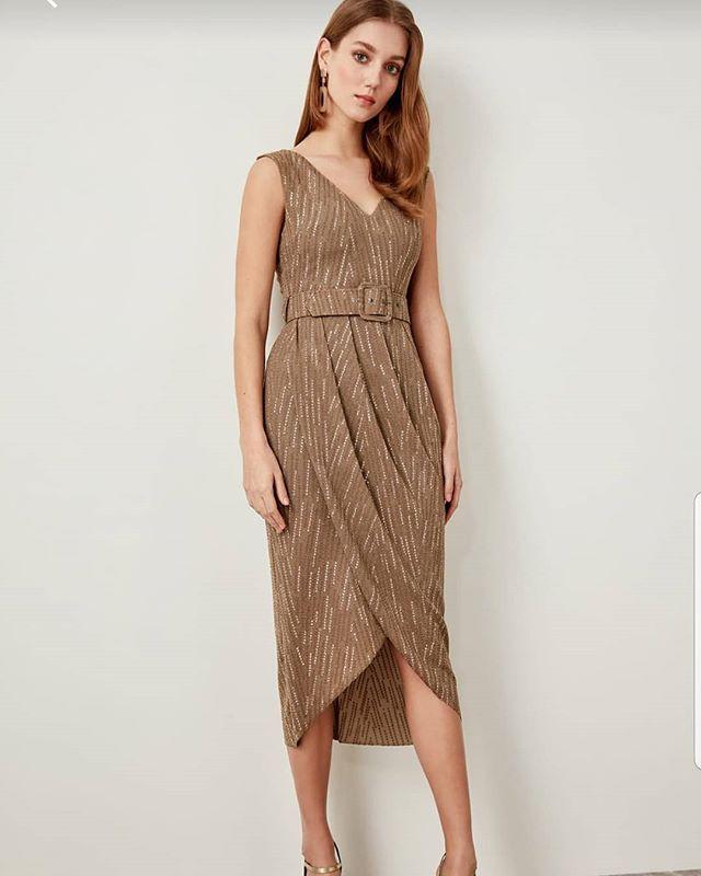 Zarif Elbise Trendyolmilla 159 99 Trendyolmilla Trendyol Elbisemodelleri Elbise Dress Butik Fashionblogger Fashio Fashion Dresses Flapper Dress