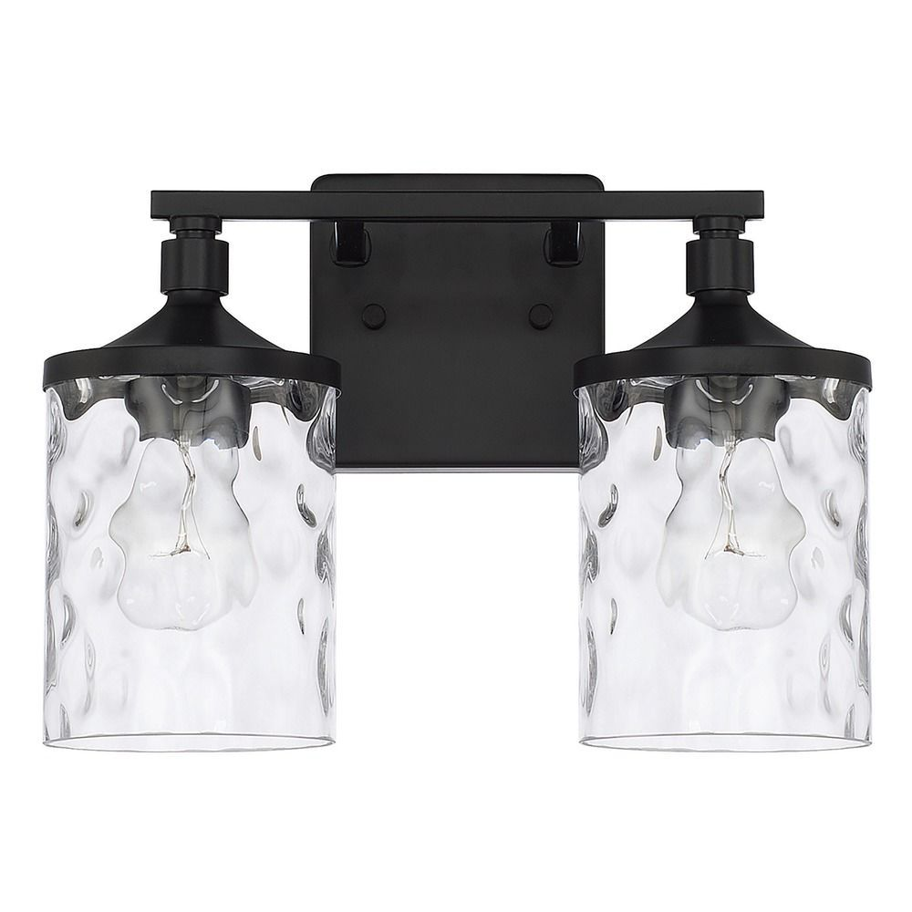 Homeplace By Capital Lighting Colton Matte Black Bathroom ...