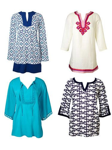 Your body type is a good indicator of what kind of print would look best on you! Click to find out. #fashion #tunic #pattern