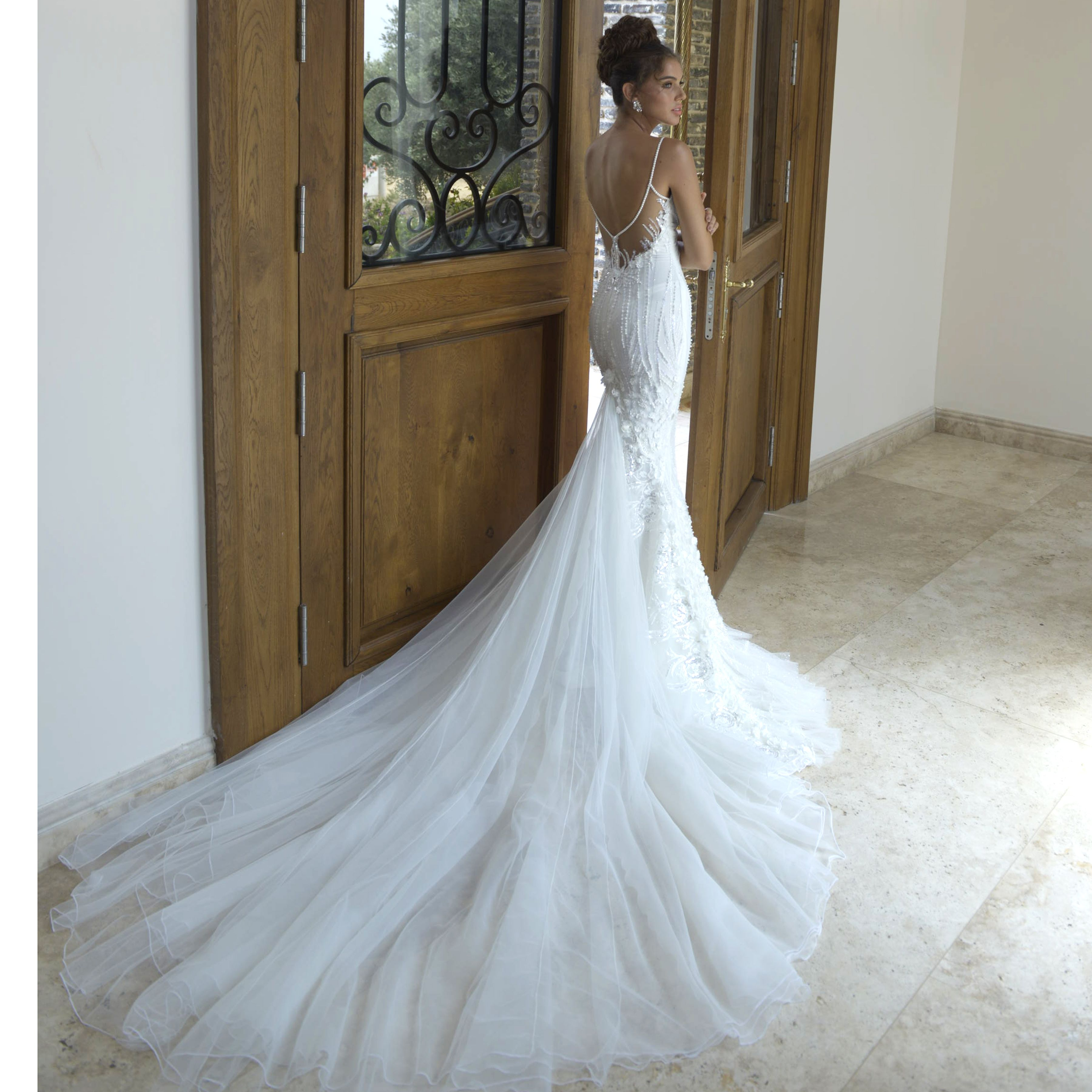 Our flawless Zoe gown http://galialahav.com/en/   Wedding ...