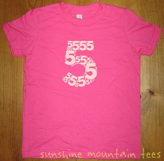 5th Birthday Shirt