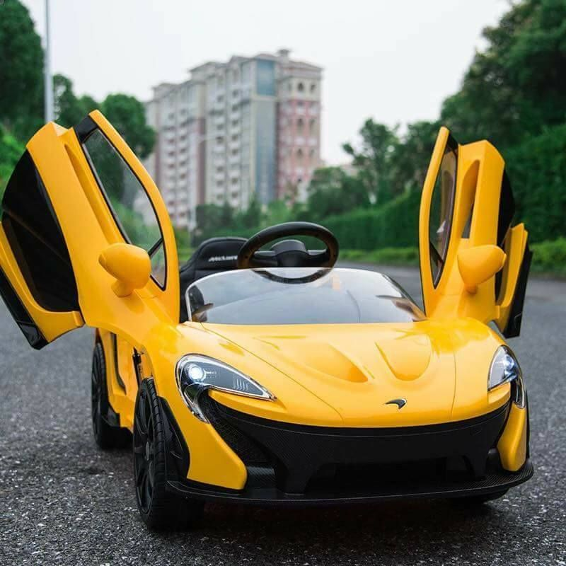 Mclaren P1 Battery Powered Ride On Kids Car Remote 12v Mclaren P1 Baby Driving Car Sport Cars