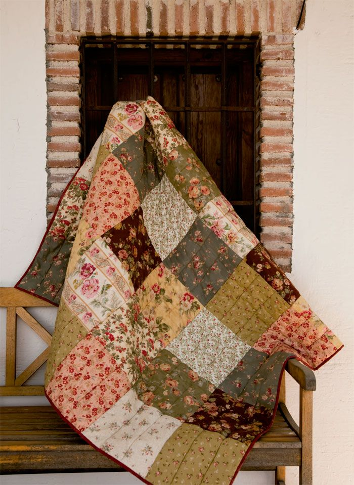 Paso a paso patchwork aquilt tutorial tips manta - Colchas password para hacer ...
