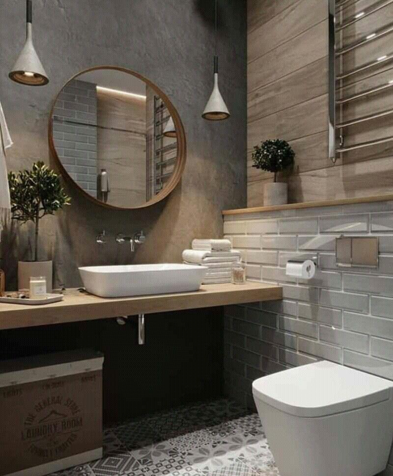 Small Bathroomdesign Ideas: Nowoczesne Projekty Azienki, Projekty