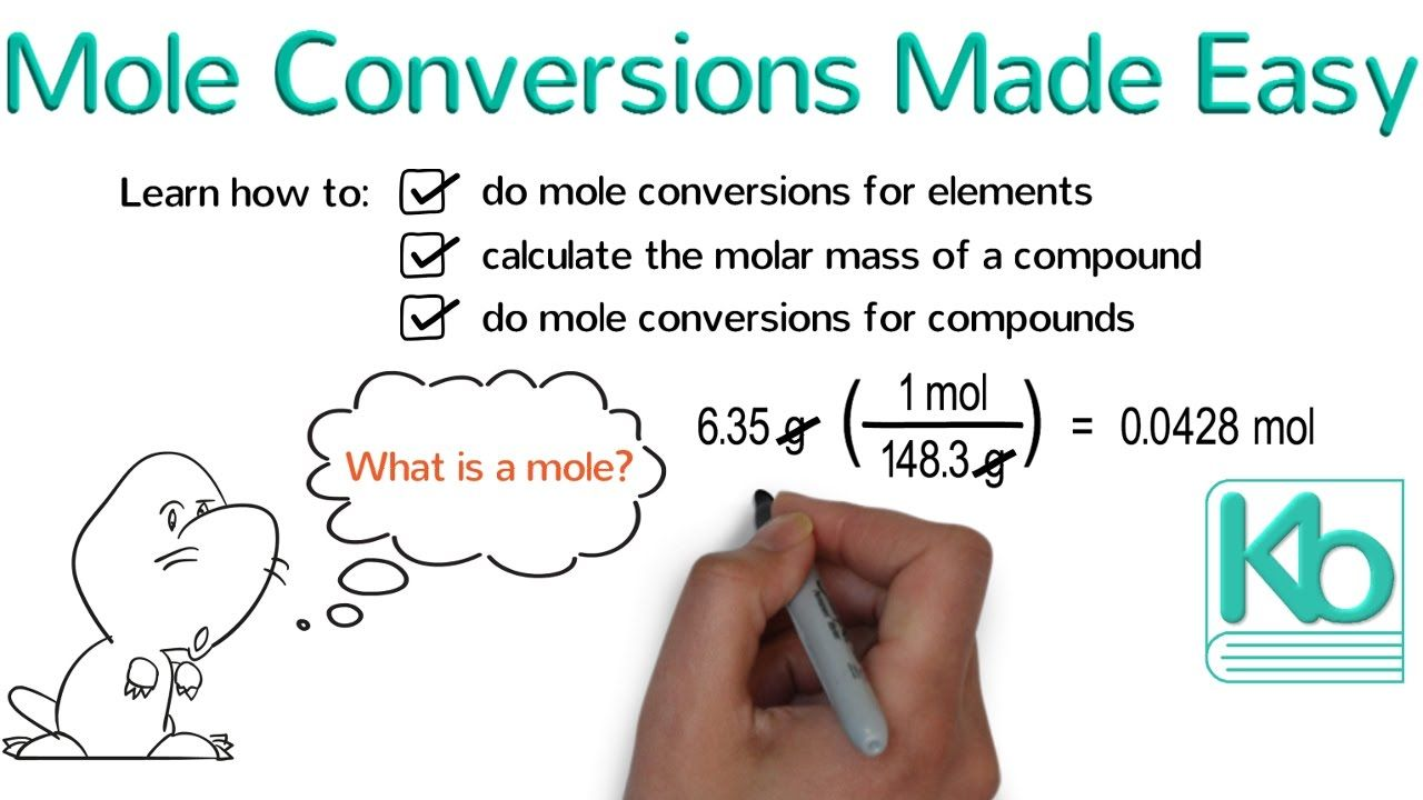 Mole Conversions Made Easy How To Convert Between Grams And Moles Mole Conversion Teaching Chemistry Study Techniques