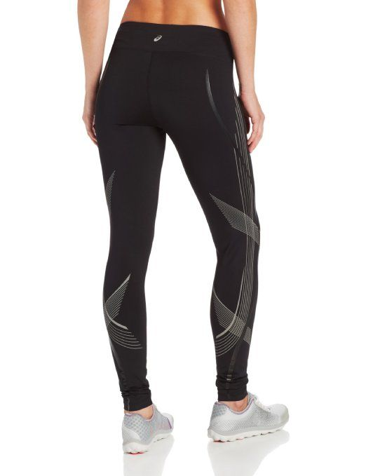 asics womens running tights
