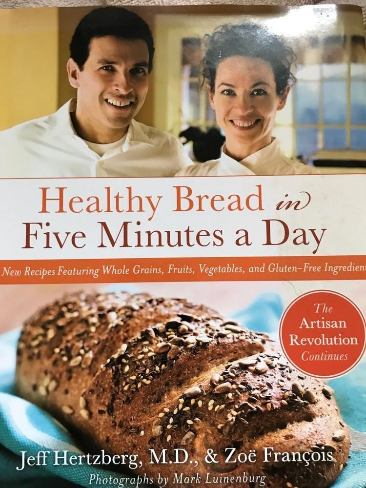 Healthy Bread in 5 minutes/day FREE SHIPPING BUY 6 BOOKS