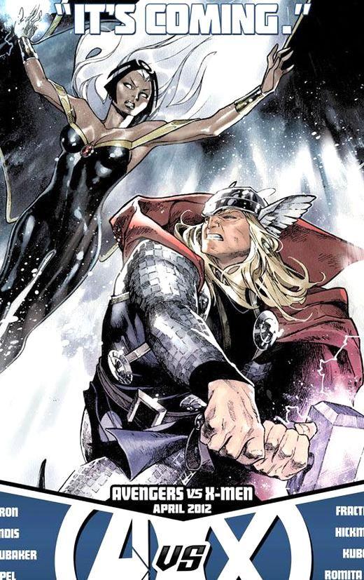 Avengers Vs Xmen Storm vs Thor nel 2020