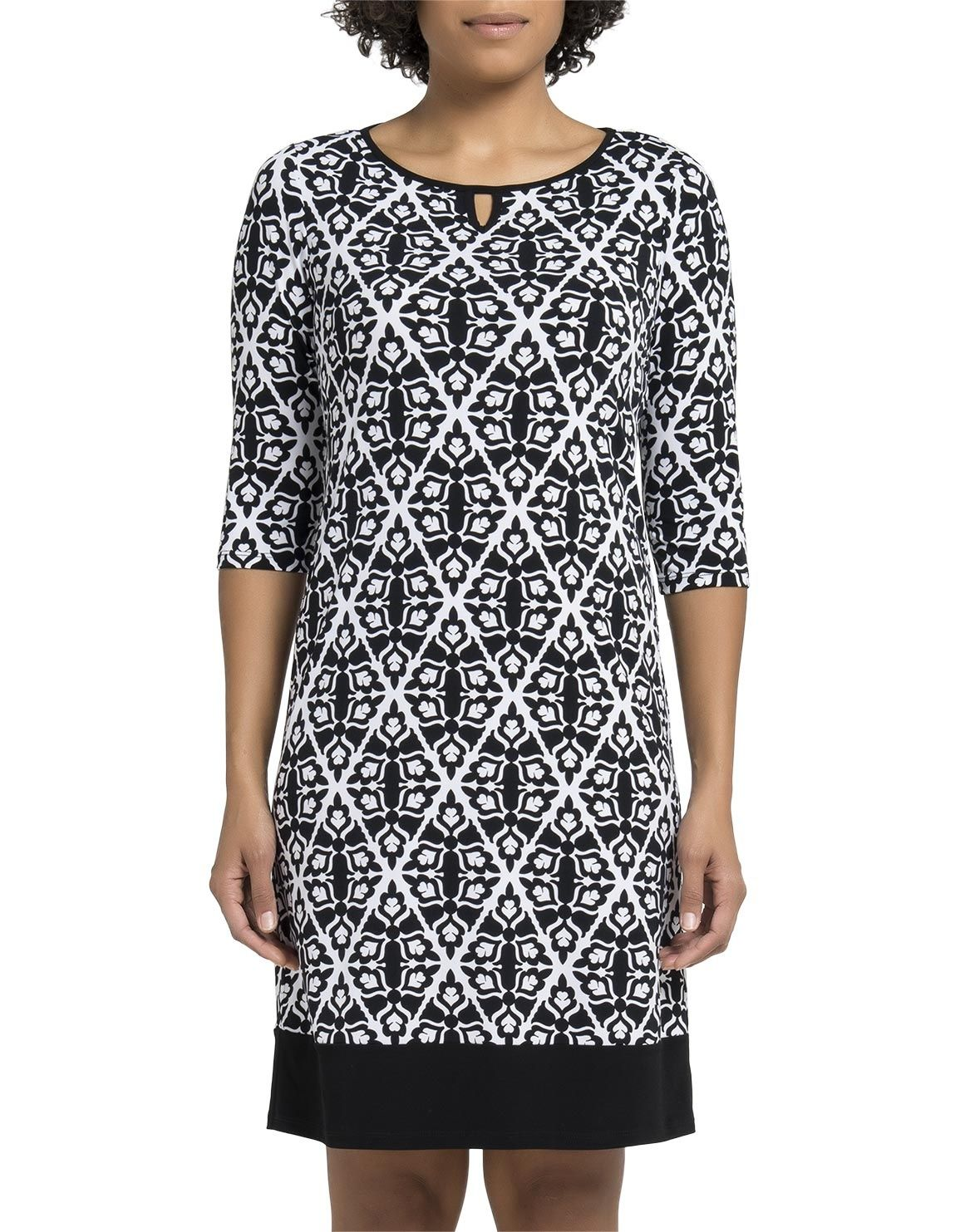 Woolworths black and white dresses