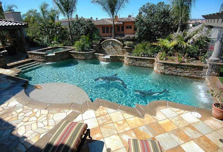 The most amazing pool mosaics pool re do pinterest swimming pool tiles and swimming pools - Swimming pool tiles designs ...