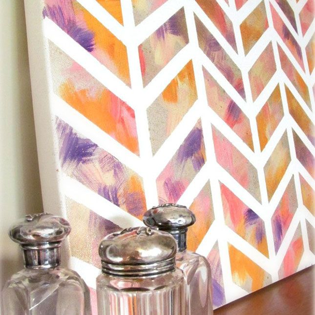 100 creative diy wall art ideas to decorate your space - Canvas Design Ideas