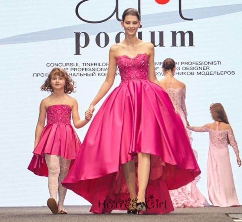 A-Line Evening Dress,Mother And Daughter Party Dress,Christmas ...