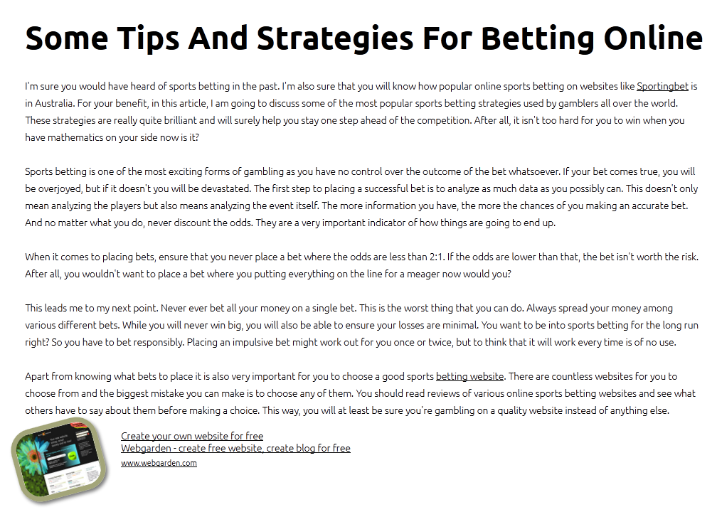Diy sports betting systems pdf to word nick mordin betting for a living free