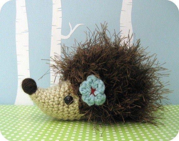 amigurumi patterns hedgehog - pattern on etsy
