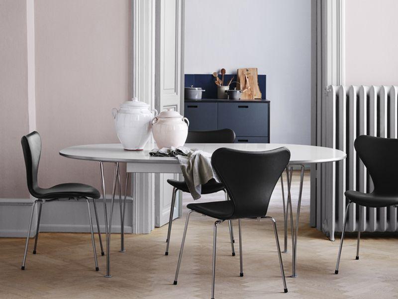 Fritz Hansen Super Elliptical Table Series Contemporary Furniture Designer  Furniture