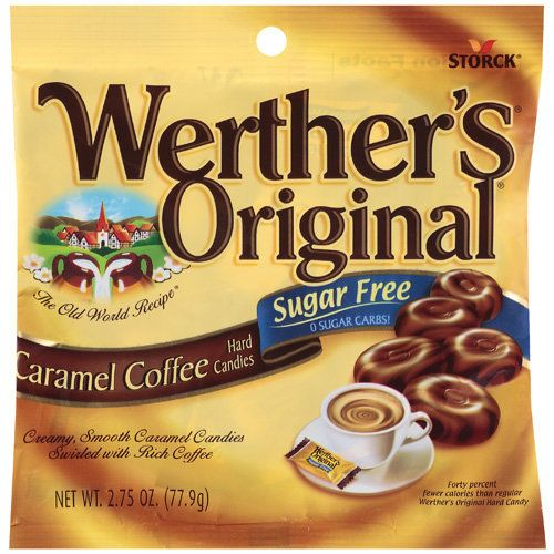 Werther S Sugar Free Caramel Coffee Hard Candies So Awesome