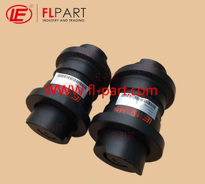 Mini Down Roller For Hitachi Excavator With Model No Ex30 Excavator Parts Excavator Roller