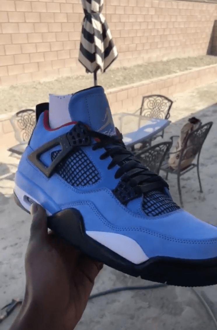 "177ee7a04c45 Travis Scott x Air Jordan 4 Retro ""Cactus Jack"" New Pictures - EU Kicks   Sneaker Magazine"