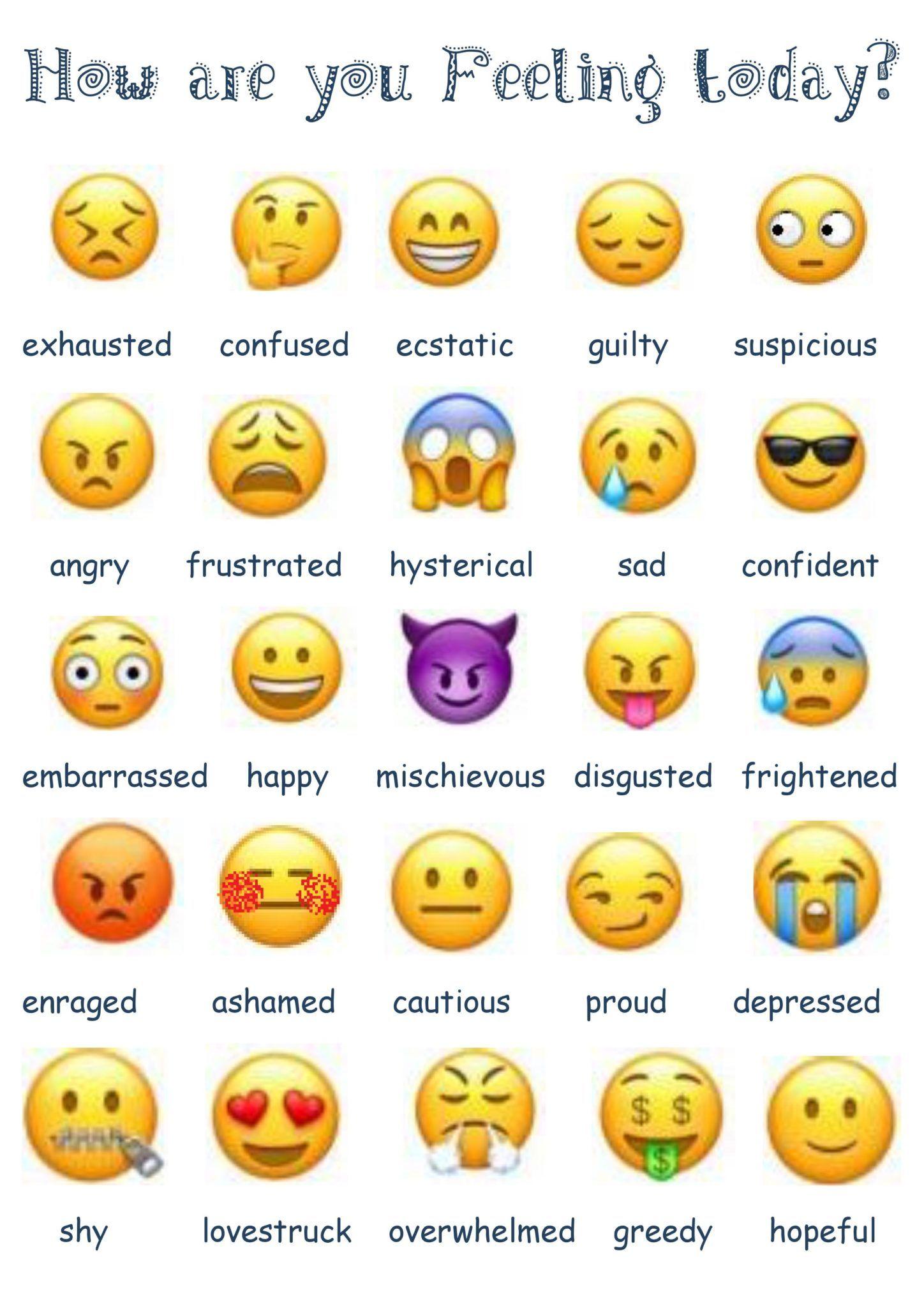 Resultado De Imagen Para Emojis Feelings